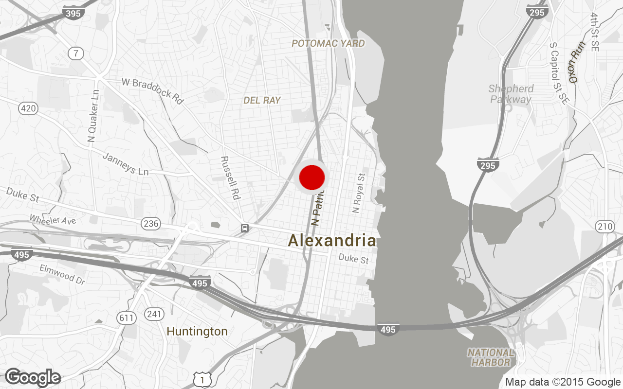 Alexandria gym map