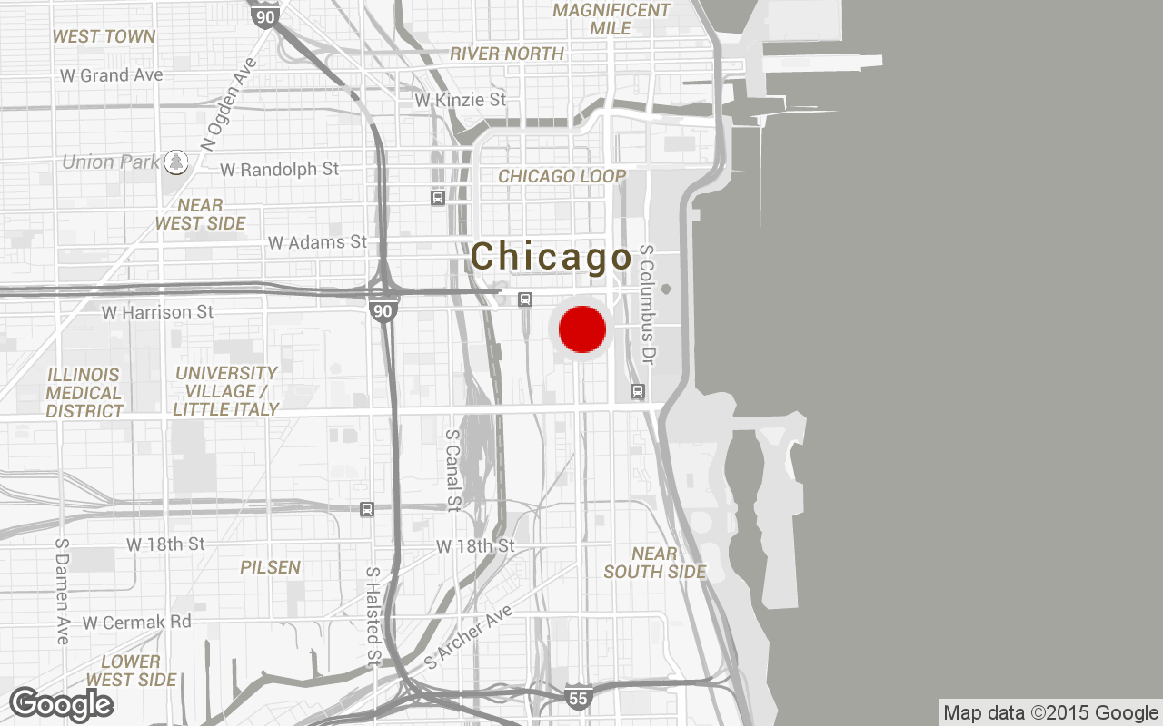 South Loop gym map