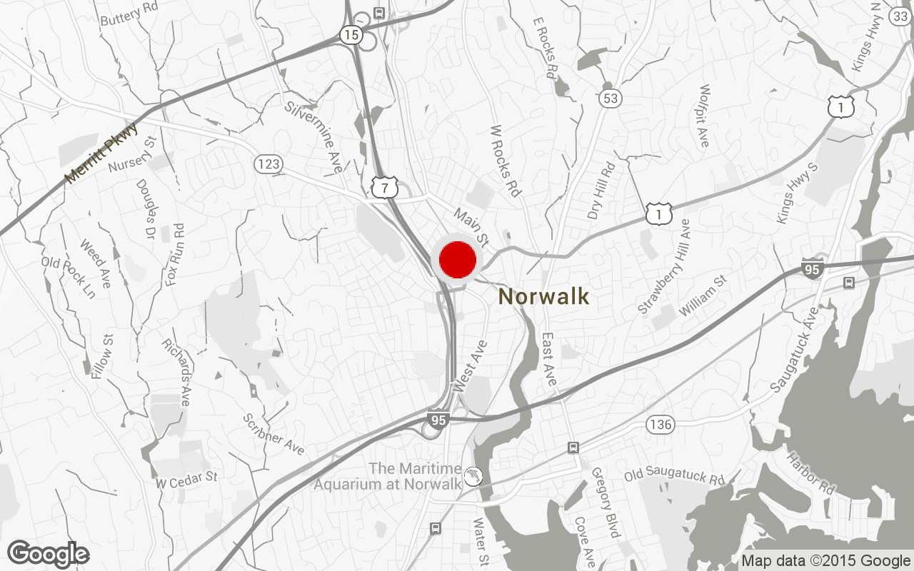 Norwalk gym map